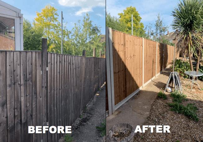 New Garden Fence Kings Lynn